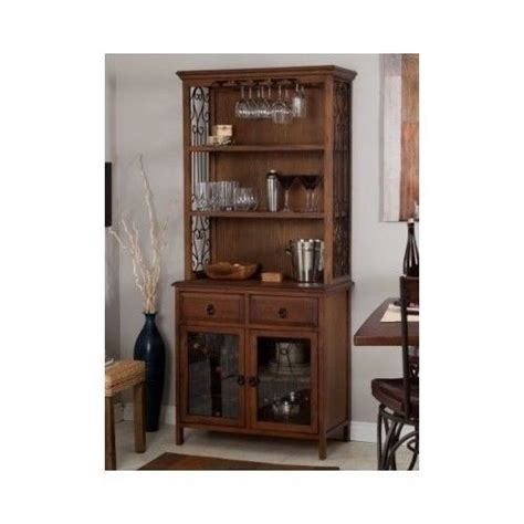 China Cabinet With Wine Rack by Solid Wood Bakers Rack Sideboard Hutch Wine Bottles China