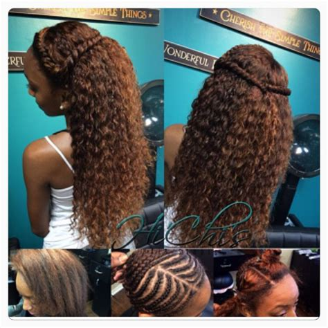 full sew   lace closure brazilian curly hair