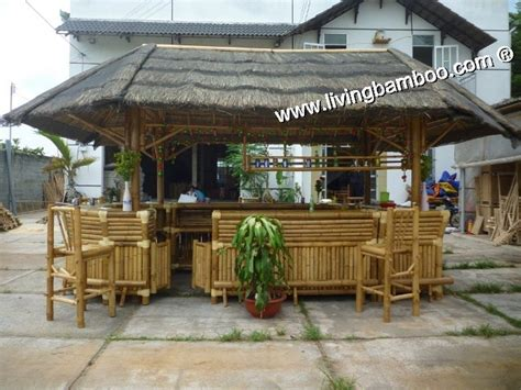 Tiki Bar Thatch Roof Bamboo Tiki Bar Stool Thatch Roof For Relax After