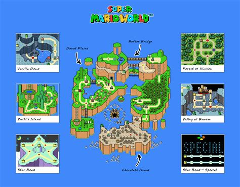Super Mario World Maps by Super Mario Bros The Lost Levels Jeu Nes Images