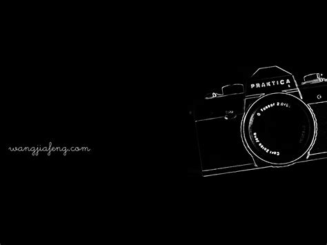 photography camera wallpaper black and white wallpaper of praktica l by wangjiafeng on deviantart