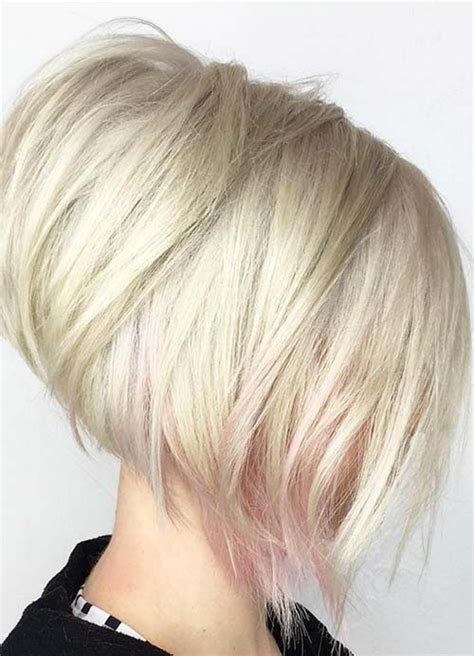 should thin hair wear stacked bob short hairstyles for women with thin fine hair layered