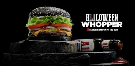 black burger battles mcdonalds japan unveils dark burger to burger king unveils the a 1 halloween whopper