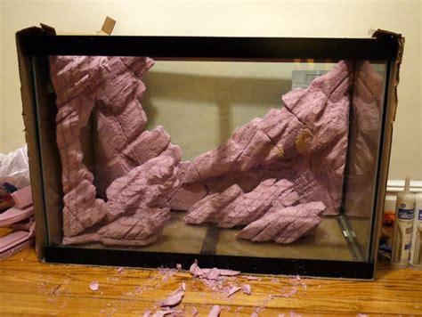Aquascape Malaysia Diy Styrofoam Background Rocks Monsterfishkeepers Com