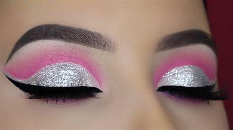 Cut Pink pink cut crease tutorial