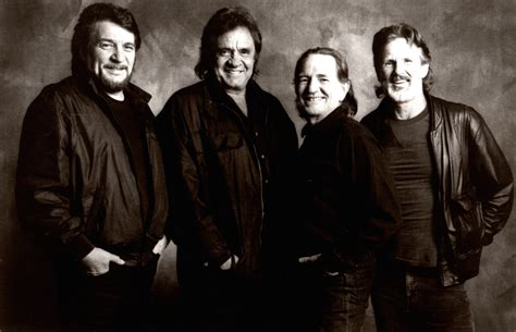 country music group the outlaws the highwaymen were friends till the end frontrowcenter