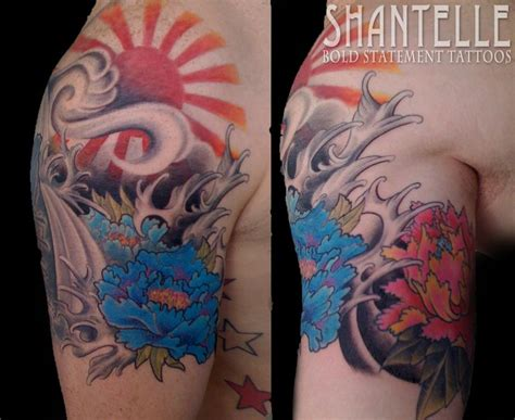 japanese sunrise tattoo designs 17 best ideas about rising sun tattoos on