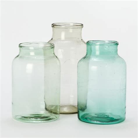 Color Glass Vases by 10 Easy Pieces Glass Bottle Vases Gardenista