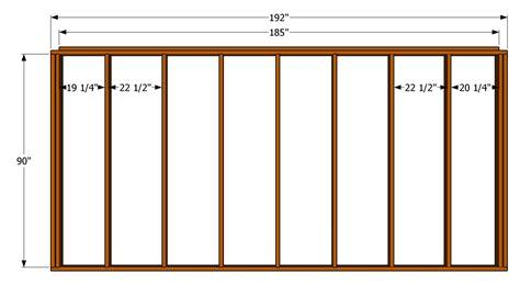 wall blueprints 12x14 shed floor plans joy studio design gallery best