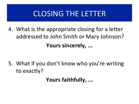 Closing Letter Called How To Write A Letter Of Complaint