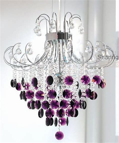 Purple Chandelier Purple Chandelier Purple