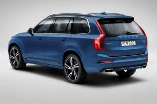 Volvo Xc90 Back 2016 Volvo Xc90 R Design Rear Side View Photo 3