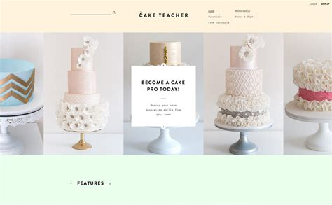 cake websites the best designs web design inspiration cake