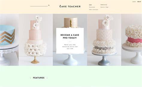 Cake Websites by The Best Designs Web Design Inspiration Cake