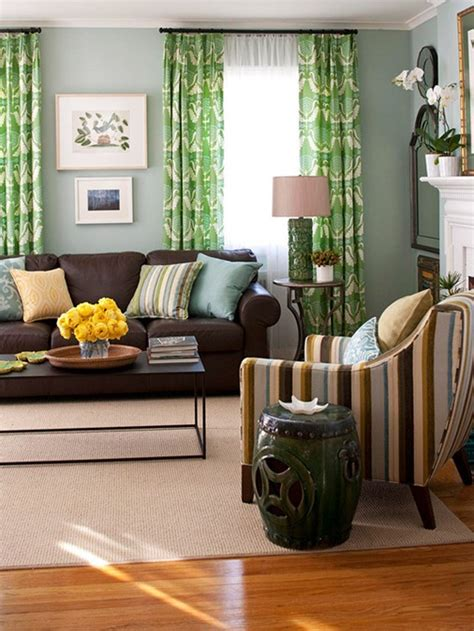 Decorating With Brown Furniture by Bhg Centsational Style