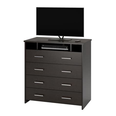 bedroom dresser tv stand ameriwood furniture media dresser tv stand for bedroom