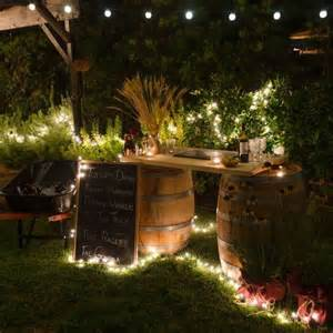 String Lights Outdoor Patio Garten Bar Selber Bauen Freshouse
