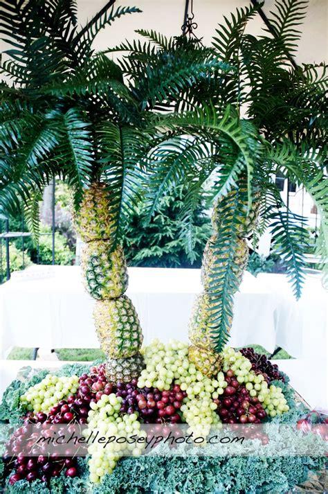 fruit tree centerpiece 1000 ideas about palm tree fruit on hawaiian