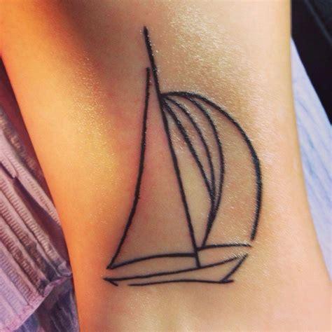 simple sailboat simple sailboat tattoo tattoo pinterest tattoo