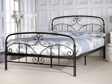 metal bed frame king size limelight musca king size black metal bed frame
