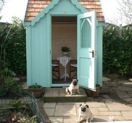 17 best ideas about posh sheds on garden
