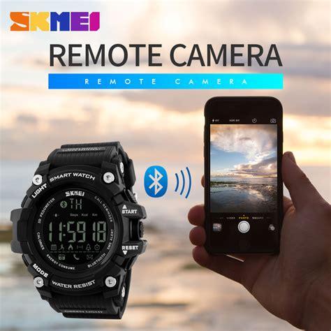 Skmei Jam Tangan Olahraga Smartwatch Bluetooth Dg1227 Bl skmei jam tangan olahraga smartwatch bluetooth dg1227 bl black gold jakartanotebook