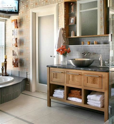 gray and cream bathroom 10 stylish colored bathrooms modern sleek combinations