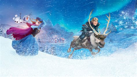 wallpaper ultah frozen anna kristoff in frozen wallpapers hd wallpapers id 13900