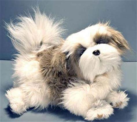 plush shih tzu stuffed animal miki stuffed animal handbag