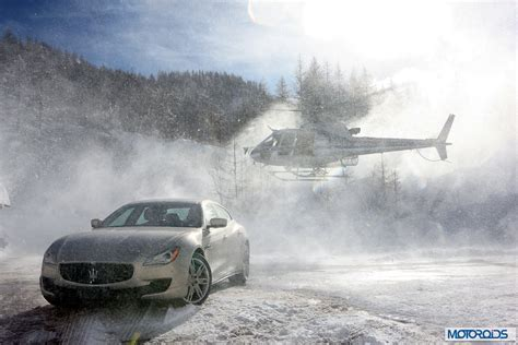 maserati snow awd maserati ghibli and quattroporte q4 review sliding on