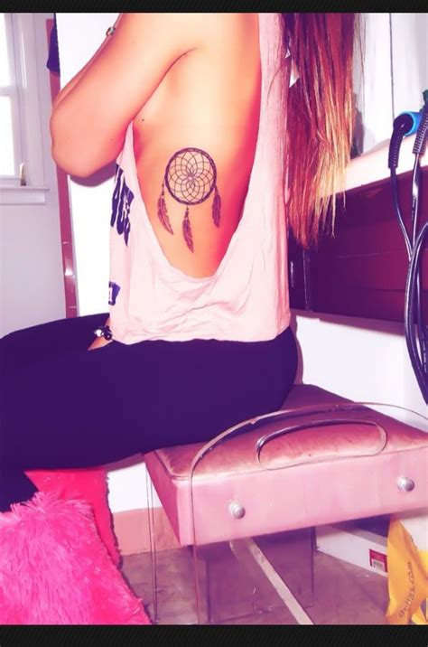 tattoo placement and size dream catcher tattoo love the placement and size