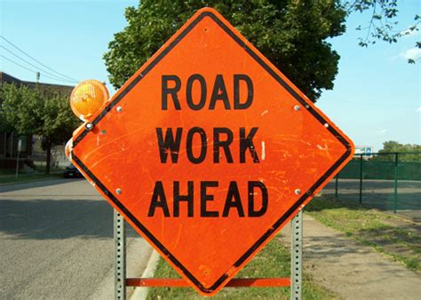Road Construction Meme - riverton radio 187 road work ahead sign from web