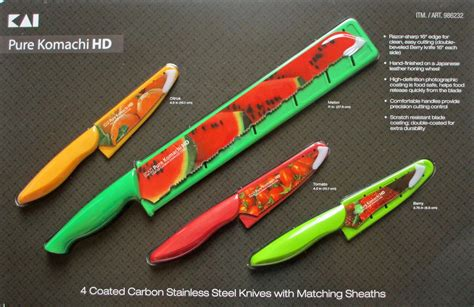 komachi knives thrifty momma ramblings set of 4 komachi coated
