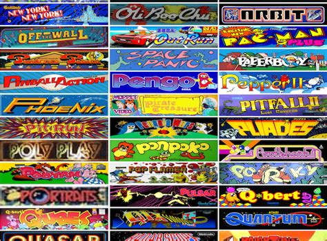 design games now over 900 classic arcade games are now available to play on