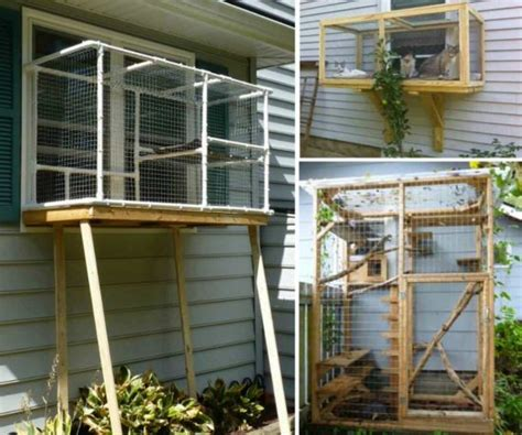 cat patio diy pin by stacey prince on outdoor cat