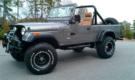 jeep scrambler hardtop 1984 jeep scrambler information and photos momentcar