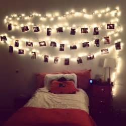 hang lights and cute pictures with clothes pins love this