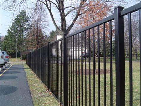 metal fence metal fences aluminum fence california fence company