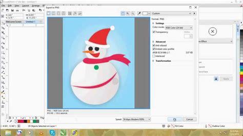 cara membuat infografis dengan coreldraw cara membuat boneka salju dengan corel draw wanda youtube