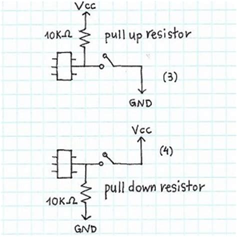 pull up resistors explained pull up resistors explained 28 images pull up and pull resistors explained i2c basics