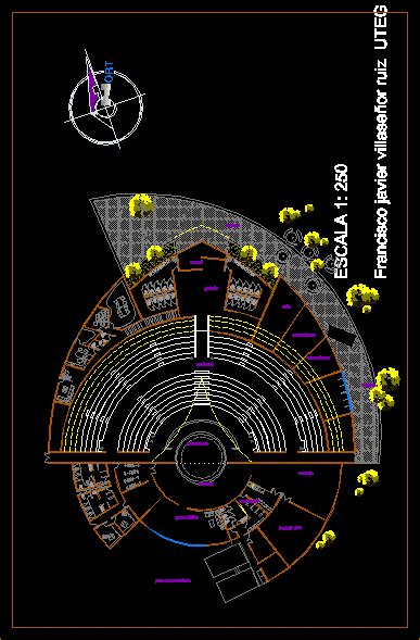 outdoor theater dwg block  autocad designs cad