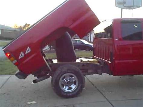 gmc sierra  load hog dump bed  duals youtube