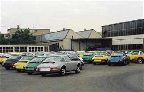 porsche stuttgart factory a general survey of porsche cars 1965 1973 thackerspeed