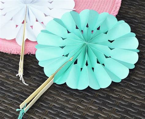How To Make Paper Fans For Weddings - 10 best images about fan on paper fans wedding