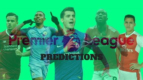 epl games predictions england premier league predictions week 7 game