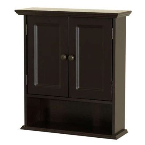 bathroom wall cabinets home depot zenith collette 21 50 in w x 24 in wall cabinet in