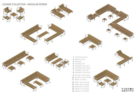 modular layout exles modular lounge system cima lounge collection