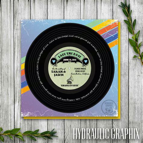 printable vinyl australia vinyl music record printable save the date wedding