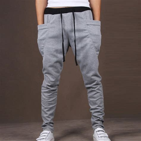 Jogger Bintang All Size Fit To L 1 Mens Joggers Casual Slim Fit Harem Drop