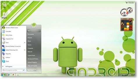 download themes for windows 7 android windows 7 android theme screnshots
